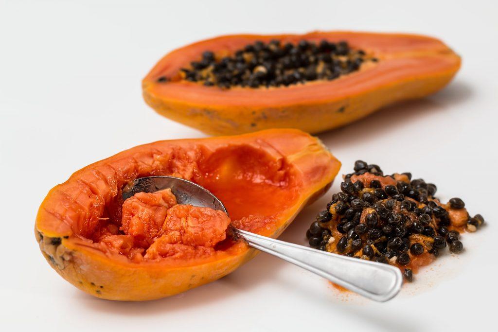 papaja złuszczanie