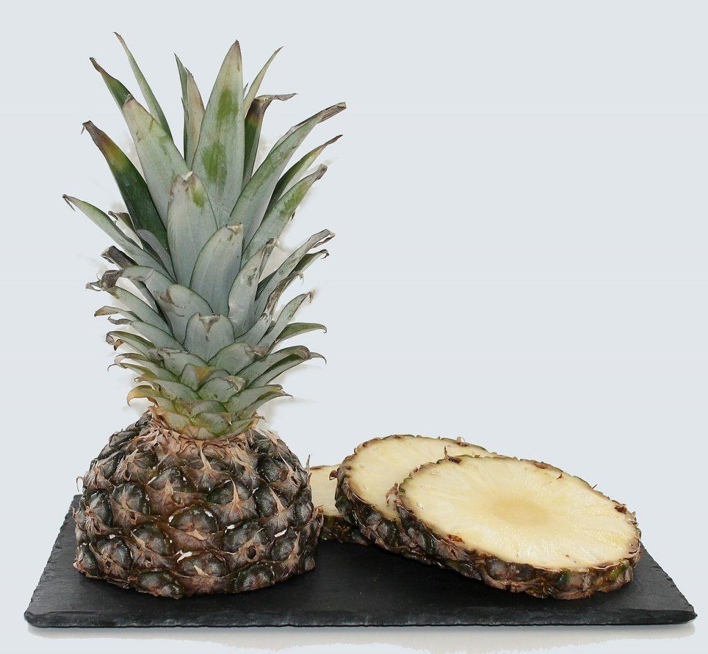 ananas złuszczanie